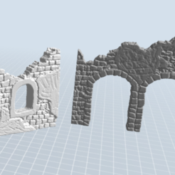 Download free 3D printing files ruin, nicoco3D