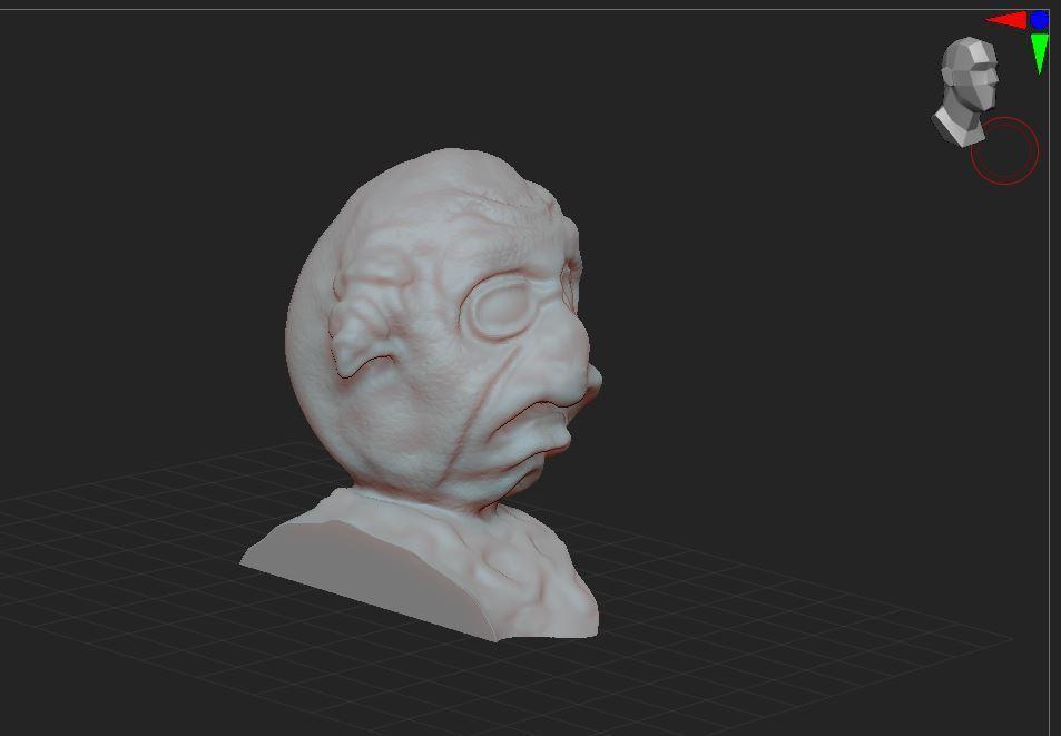 2.JPG Télécharger fichier STL gratuit bust  • Objet imprimable en 3D, nicoco3D