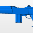 Download free STL file M1 Carbine Paracomando, nicoco3D