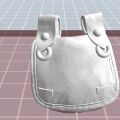 4.PNG Download free OBJ file soldier bag • Model to 3D print, NICOCO3D