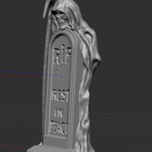 2.PNG Download free STL file skeleton with grave • 3D print template, NICOCO3D