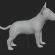 3.PNG Download STL file BULL TERRIER DOG V2 • Template to 3D print, nicoco3D
