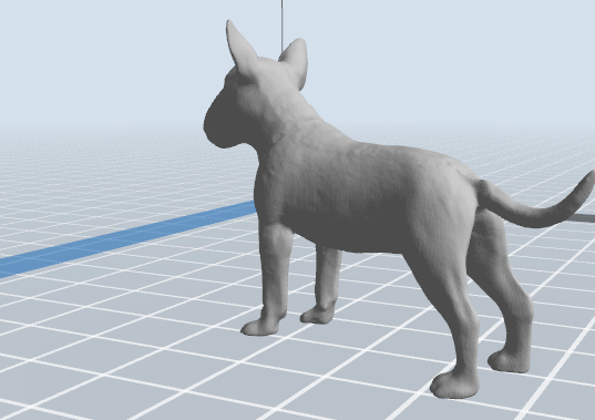 4.PNG Download 3MF file Bull Terrier Dog • 3D printable object, nicoco3D