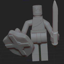 Télécharger fichier impression 3D LEGO, nicoco3D