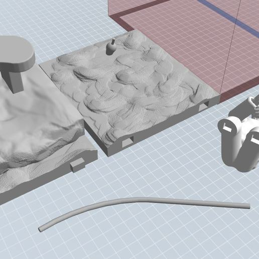 pecheur avec enboitment.JPG Download STL file fisherman • 3D printing object, NICOCO3D