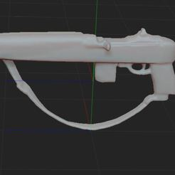 1.JPG Download free STL file M1A1 rifle • 3D printing model, NICOCO3D
