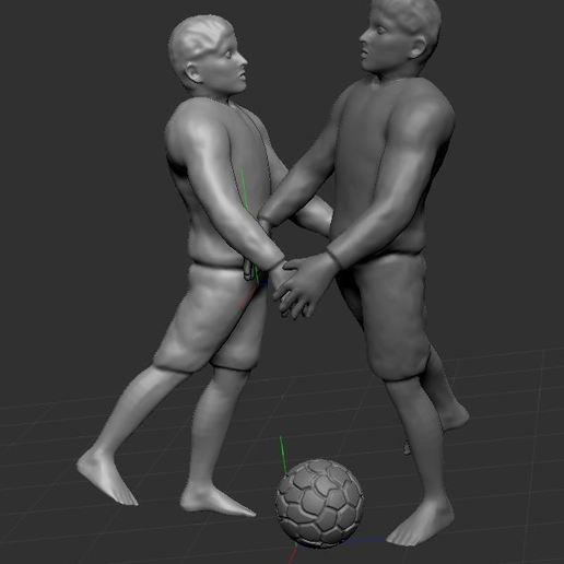 Download free STL file football player • 3D printer object, nicoco3D
