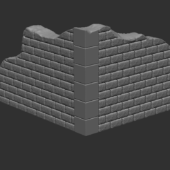 1.PNG Télécharger fichier STL gratuit Mur en pierre • Objet imprimable en 3D, nicoco3D