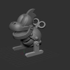 1.PNG Download STL file Mechakoopa - Super Mario • 3D printable design, NICOCO3D