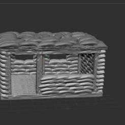 1.PNG Download free STL file Vietnam bunker • 3D printable model, nicoco3D