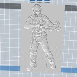 Télécharger STL gratuit Daryl Dixon, nicoco3D