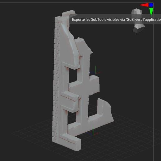 5.JPG Download free STL file ruined house • 3D printing design, nicoco3D
