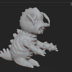 3.JPG Download free STL file bily monster • 3D print model, NICOCO3D