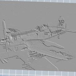 Télécharger fichier impression 3D gratuit Vought F4U-5N Corsair, nicoco3D