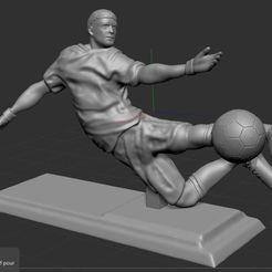 1.JPG Télécharger fichier STL gratuit Footballeur  • Objet à imprimer en 3D, NICOCO3D