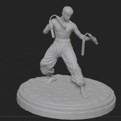 Impresiones 3D gratis Bruce Lee, nicoco3D