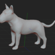1.PNG Download STL file BULL TERRIER DOG V2 • Template to 3D print, nicoco3D