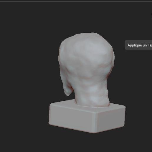 4.JPG Télécharger fichier OBJ gratuit Scream buste • Objet imprimable en 3D, nicoco3D