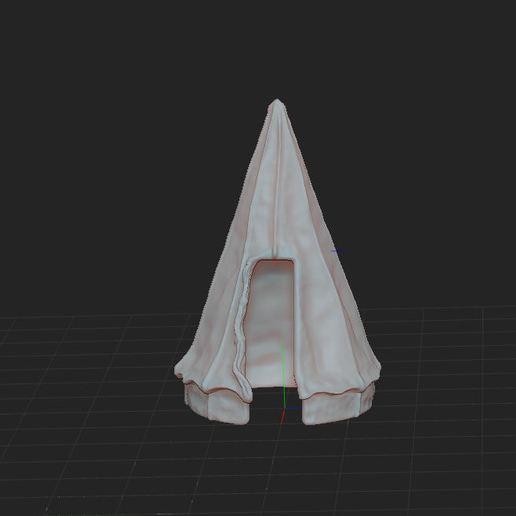 f.JPG Télécharger fichier STL gratuit Tente militaire de campagne • Design pour imprimante 3D, nicoco3D
