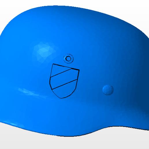 5.PNG Télécharger fichier OBJ gratuit casque allemand SS  • Design imprimable en 3D, nicoco3D