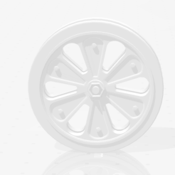 Download free 3D model half-track wheel, nicoco3D