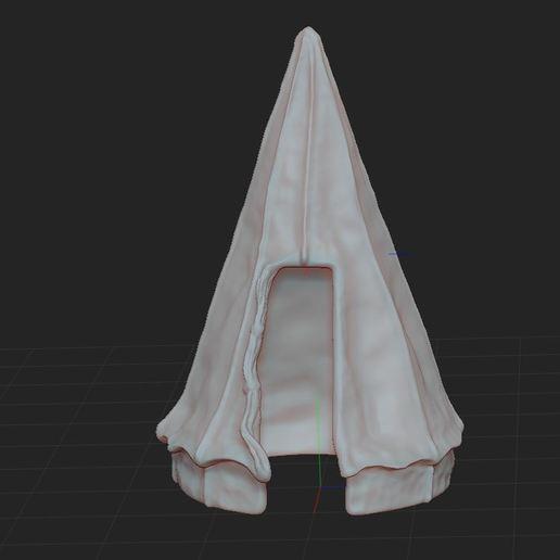 e.JPG Télécharger fichier STL gratuit Tente militaire de campagne • Design pour imprimante 3D, nicoco3D
