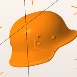Imprimir en 3D gratis Casco alemán, nicoco3D