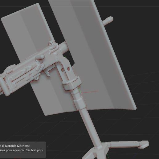 4.JPG Télécharger fichier STL gratuit mitrailleuse  • Modèle pour impression 3D, nicoco3D