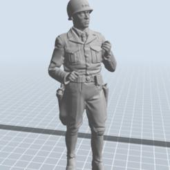 Télécharger fichier 3D gratuit général patton, nicoco3D