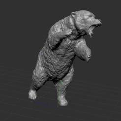 2.PNG Download STL file bear • 3D print template, nicoco3D