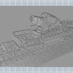 Télécharger fichier imprimante 3D gratuit Railway Artillery, nicoco3D