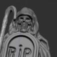 5.PNG Télécharger fichier STL gratuit squelette avec tombe • Modèle imprimable en 3D, NICOCO3D
