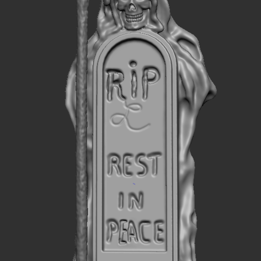 1.PNG Download free STL file skeleton with grave • 3D print template, NICOCO3D