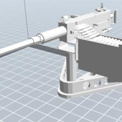 Download free 3D printer designs machine gun, nicoco3D