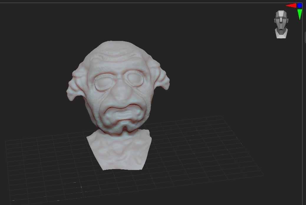 1.JPG Télécharger fichier STL gratuit bust  • Objet imprimable en 3D, nicoco3D