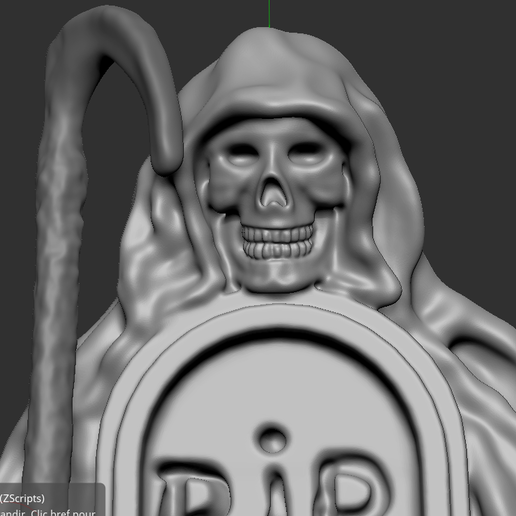 5.PNG Download free STL file skeleton with grave • 3D print template, NICOCO3D