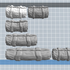 Télécharger plan imprimante 3D gatuit Bâche pack 6, nicoco3D