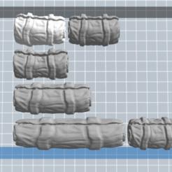 Download free 3D printer designs Tarpaulin pack 6, nicoco3D