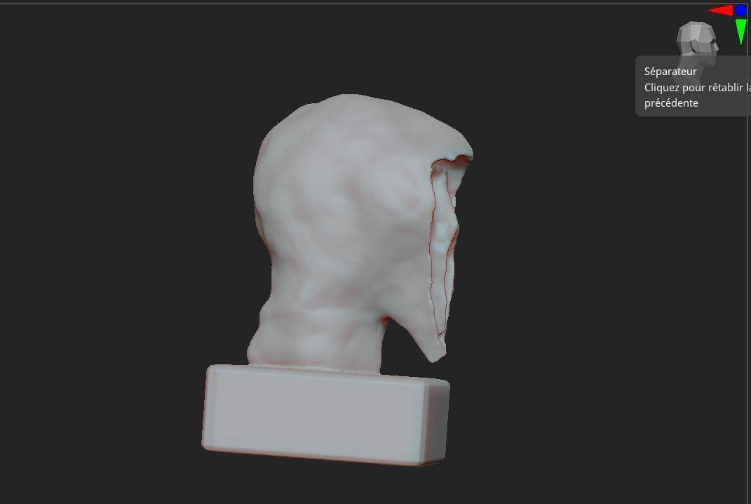2.JPG Télécharger fichier OBJ gratuit Scream buste • Objet imprimable en 3D, nicoco3D