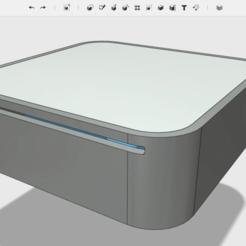 Skærmbillede_2017-10-14_kl._14.49.51.png Download free STL file MacPi Mini G4 (Raspberry Pi 2 + 3 Case) • 3D printable object, The_Craft_Dude