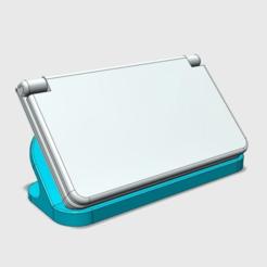 """Skærmbillede_2017-07-27_kl_004425.png Télécharger fichier STL gratuit (""""NOUVEAU"""") STAND D'EXPOSITION 3DS XL (OUVERT À L'ARRIÈRE) • Plan pour imprimante 3D, The_Craft_Dude"""
