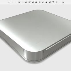 Skærmbillede_2017-10-12_kl._11.51.21.png Download free STL file MacPi Mini (Raspberry Pi 2 + 3 Case) • 3D printable model, The_Craft_Dude