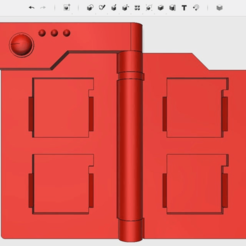 Descargar archivos 3D gratis PokeDex DS Soporte de cartucho, The_Craft_Dude