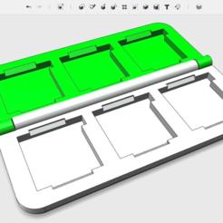 Skærmbillede_2017-11-24_kl._09.34.52.png Télécharger fichier STL gratuit 3DS PORTE-CARTOUCHE PETIT • Design pour imprimante 3D, The_Craft_Dude