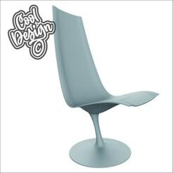stelo_1-02.jpg Download OBJ file LOUNGE CHAIR • Design to 3D print, CoolDesign