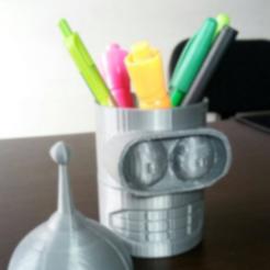 2.png Download STL file Bender Holder, Pot, Mate and top decoration • 3D printer design, eqzx24