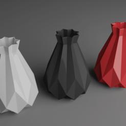 Descargar diseños 3D Flower Vase 3D printable model Decoration Print 3D print model, eqzx24