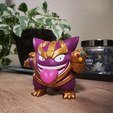 Download 3D printing designs Thangar (Thanos Gengar), frenchy3d