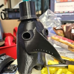 20201119_164837.jpg Download OBJ file Among Us Plague Doctor Crewmate • 3D print object, Wychu