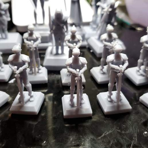 received_314827849811230.jpeg Download STL file OSRS Chess Set Old School Runescape Mini Figures  • Model to 3D print, Wychu
